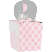 Elephant Girl Little Peanut Favour Boxes 8 Pack