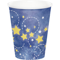 Moon Stars Space Party Supplies - Cups 8 pack