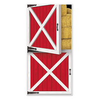 Farm Barn Door Red Door Cover