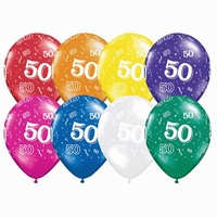 50th Birthday Balloons Jewel