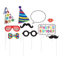 Birthday Photo Booth Props 10 Pack