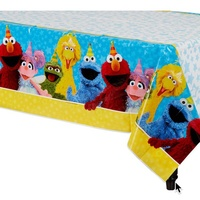 Sesame Street Party Supplies - Tablecover