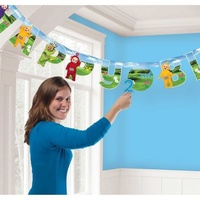 Teletubbies Happy Birthday Banner Kit