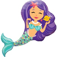 Mermaid Party Supplies Mermaid Shaped Balloon