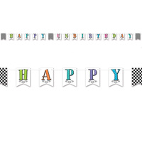 Alice in Wonderland Party Supplies Happy Un-Birthday Banner