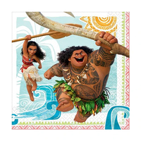 Moana Party Supplies - Lunch Napkins 16 pack