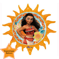 Moana Party Supplies - Sun Shaped Balloon
