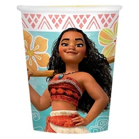 Moana Party Supplies - Cups 8 Pack