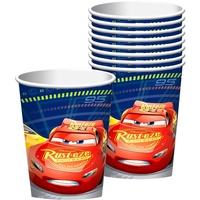 Disney Cars 3 Party Supplies Cups 8 Pack