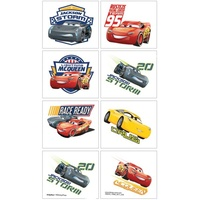 Disney Cars 3 Party Supplies Tattoos 1 Sheet