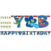 Paw Patrol Party Supplies Happy Birthday Banner Add an Age