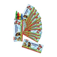 Paw Patrol Party Supplies - Crayons 12 Pack