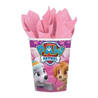 Paw Patrol Girls Party Supplies Cups 8 Pack