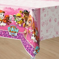 Paw Patrol Girls Party Supplies - Tablecover
