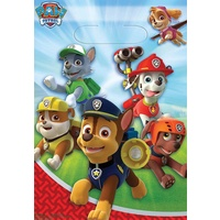Paw Patrol Party Supplies Loot Bags 8 Pack