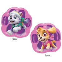 Paw Patrol Girls Party Supplies Pink Paw Shaped Balloon