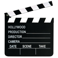 Hollywood Party Supplies Movie Set Clapboard