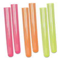 Scientist Party Supplies - Neon Test Tube Shots 6 pack