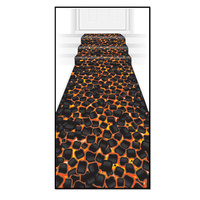 Hawaiian Luau Party Supplies Hot Coals Floor Runner
