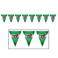 Melbourne Cup Horse Racing Carnival Party Supplies - Pennant Banner