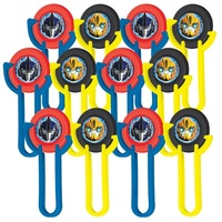 Transformers Party Supplies - Disc Shooters 12 pack
