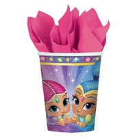 Shimmer and Shine Party Supplies  - Cups 8 Pack