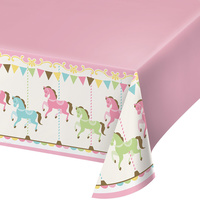 Carousel Party Supplies - Tablecover