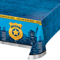 Police Party Supplies - Tablecover