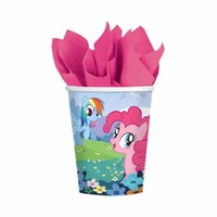 My Little Pony Party Supplies - Cups 8 Pack
