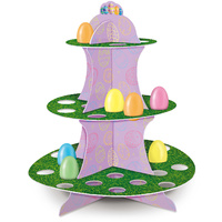 Easter Party Supplies 3 Tier Easter Egg Stand