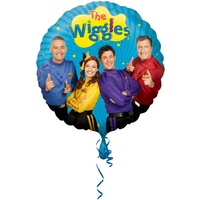 The Wiggles Party Supplies - Anthony Emma Simon Lachy 45cm Foil balloon