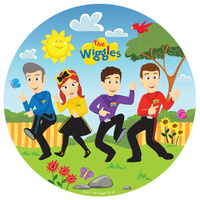 The Wiggles Party Supplies Dinner Plates 8 pack