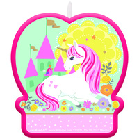 Unicorn Party Supplies Magical Unicorn Shaped Candle