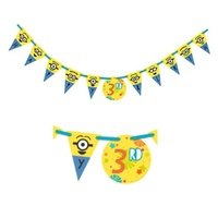Despicable Me Party Supplies Jumbo Add-An-Age Banner