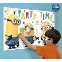 Despicable Me Party Supplies - Party Game Pin the Cupcake on the Minion Poster