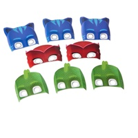 PJ Masks Party Supplies Paper Masks 8 pieces