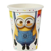 Despicable Me Minions Party Supplies Set of 8 Party Cups