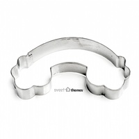 Rainbow & Clouds 18/0 grade Stainless Steel Cookie Cutter