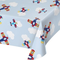 Aeroplane Party Supplies - Lil' Flyers Tablecover