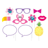 Pineapple N Friends - Photo Booth Props 10 pack