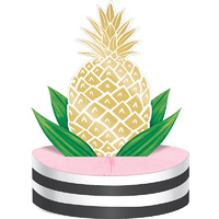 Hawaiian Luau Party Wedding Supplies Pineapple Wedding Foil Centrepiece