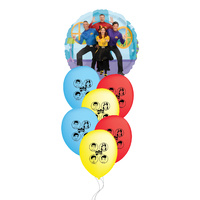 The Wiggles Party Supplies Group Balloon Bouquet