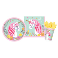Unicorn Party Supplies Magical Unicorn 8 Guest Person Pack