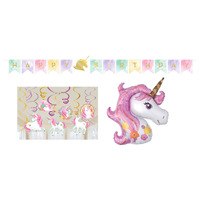 Unicorn Party Supplies Magical Unicorn Decorating Pack