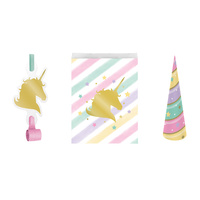 Unicorn Party Supplies - Unicorn Sparkle Loot Bag Pack