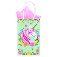 Unicorn Party Supplies Magical Unicorn Treat / Loot Bags 10 Pack