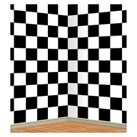 Car Racing Party Supplies Checkered Backdrop Insta Theme