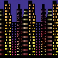 Cityscape City Nights Backdrop Insta Theme Create your own Scene