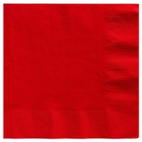 Apple Red Party Supplies Red Apple Lunch Napkins x 20 Pack