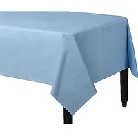 Pastel Blue Party Supplies Pastel Blue Plastic Tablecover